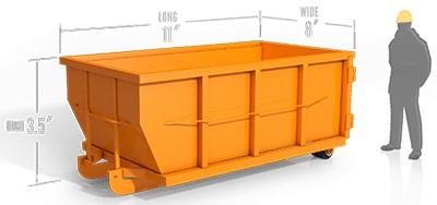 10yd roll off container in wyandotte, mi