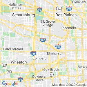 Addison Dumpster Rentals Service Area