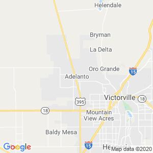Adelanto Dumpster Rentals Service Area