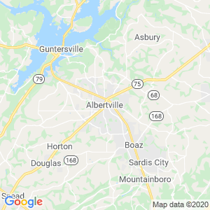 Albertville Dumpster Rentals Service Area