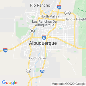 Albuquerque Dumpster Rentals Service Area