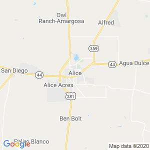 Alice Dumpster Rentals Service Area
