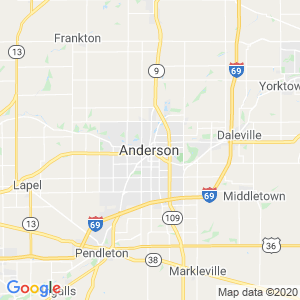 Anderson Dumpster Rentals Service Area