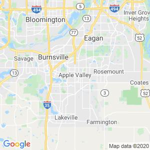 Apple Valley Dumpster Rentals Service Area