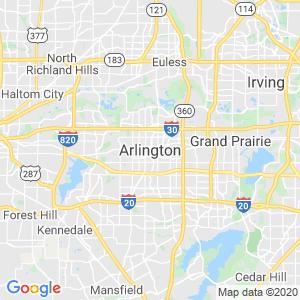 Arlington Dumpster Rentals Service Area
