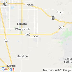 Arvin Dumpster Rentals Service Area