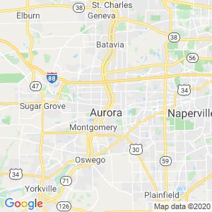 Aurora Dumpster Rentals Service Area