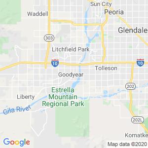 Avondale Dumpster Rentals Service Area