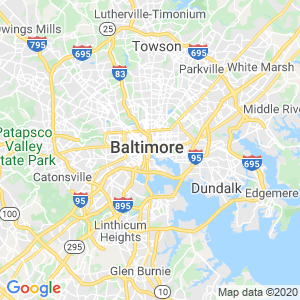 Baltimore Dumpster Rentals Service Area