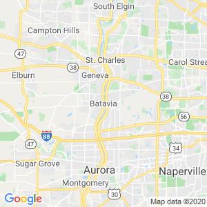 Batavia Dumpster Rentals Service Area