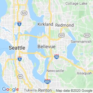 Bellevue Dumpster Rentals Service Area