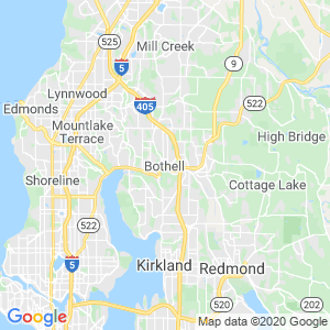 Bothell Dumpster Rentals Service Area