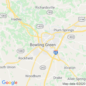 Bowling Green Dumpster Rentals Service Area