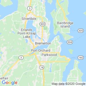 Bremerton Dumpster Rentals Service Area