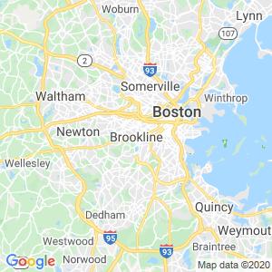 Brookline Dumpster Rentals Service Area