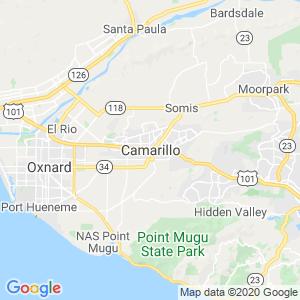 Camarillo Dumpster Rentals Service Area