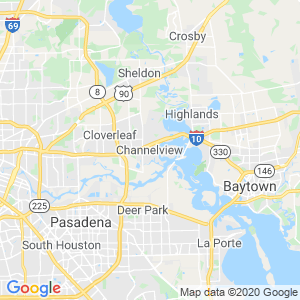 Channelview Dumpster Rentals Service Area