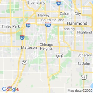 Chicago Heights Dumpster Rentals Service Area