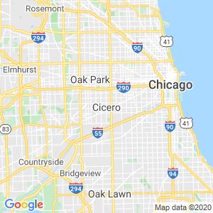 Cicero Dumpster Rentals Service Area