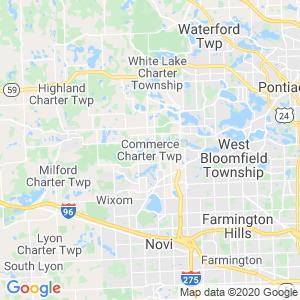 Commerce Dumpster Rentals Service Area