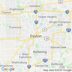 Dayton Dumpster Rentals Service Area