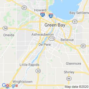De Pere Dumpster Rentals Service Area