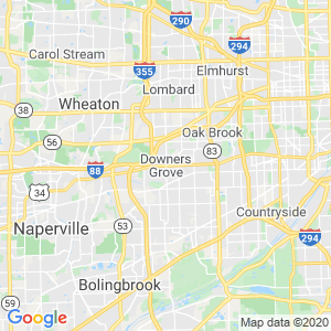 Downers Grove Dumpster Rentals Service Area