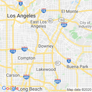 Downey Dumpster Rentals Service Area