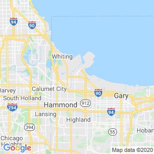 East Chicago Dumpster Rentals Service Area