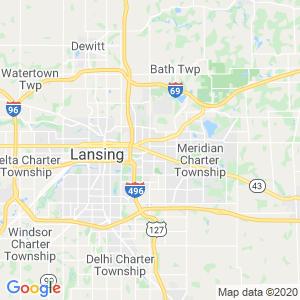 East Lansing Dumpster Rentals Service Area