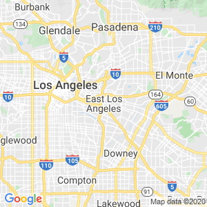 East Los Angeles Dumpster Rentals Service Area