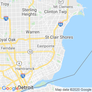 Eastpointe Dumpster Rentals Service Area