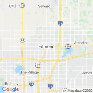 Edmond Dumpster Rentals Service Area