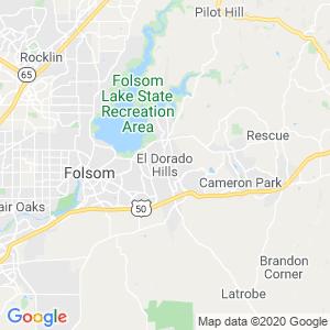 El Dorado Hills Dumpster Rentals Service Area