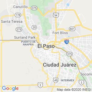 El Paso Dumpster Rentals Service Area