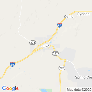 Elko Dumpster Rentals Service Area