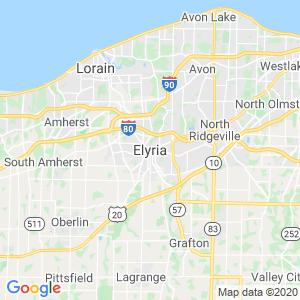 Elyria Dumpster Rentals Service Area