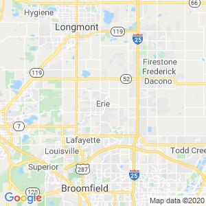 Erie Dumpster Rentals Service Area