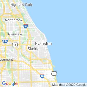 Evanston Dumpster Rentals Service Area