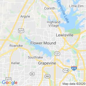 Flower Mound Dumpster Rentals Service Area