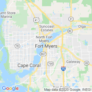 Fort Myers Dumpster Rentals Service Area