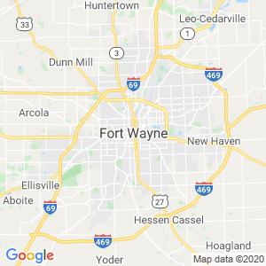 Fort Wayne Dumpster Rentals Service Area