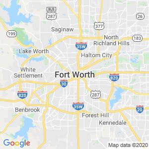 Fort Worth Dumpster Rentals Service Area
