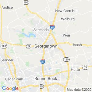 Georgetown Dumpster Rentals Service Area