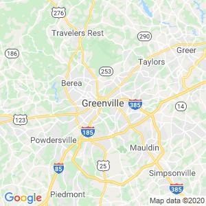Greenville Dumpster Rentals Service Area