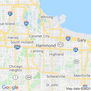 Hammond Dumpster Rentals Service Area