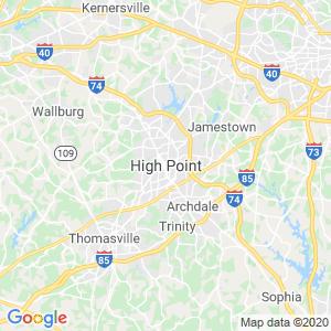 High Point Dumpster Rentals Service Area