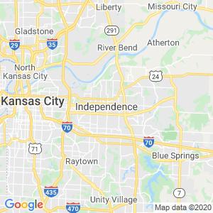 Independence Dumpster Rentals Service Area