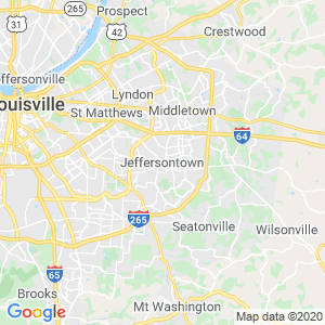 Jeffersontown Dumpster Rentals Service Area