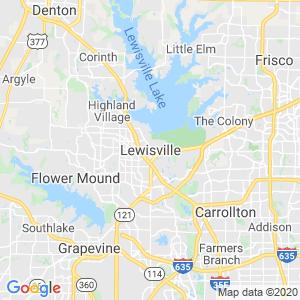 Lewisville Dumpster Rentals Service Area